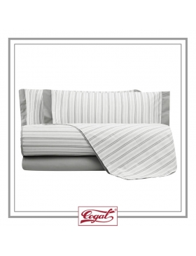 BED SET COTTON SHAKE STRIPE 9725