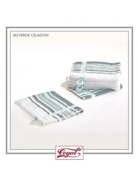 Set 6 Bath Gloves - MAXI Ontario