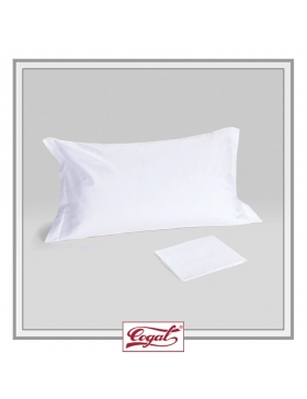 SET 4 PILLOWCASES 2 VOLANT PERCALE HOTEL PREMIUM TIFFANY