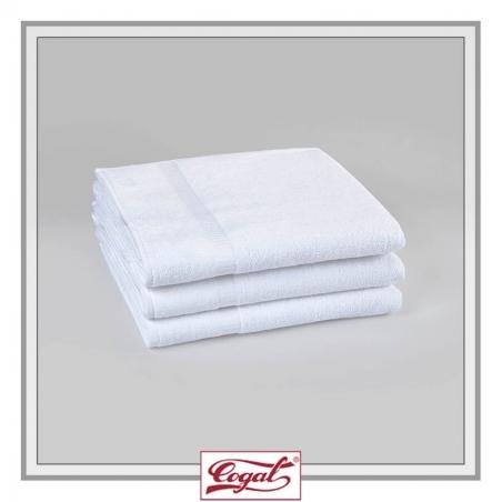 SET 3 BATH TOWELS HOTEL BASIC SERENITY