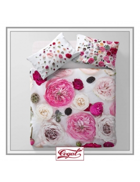 BED SET COTTON FLOWER POWER