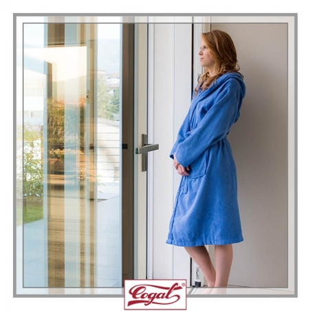 Accappatoio donna - TRADITIONAL Blue robe